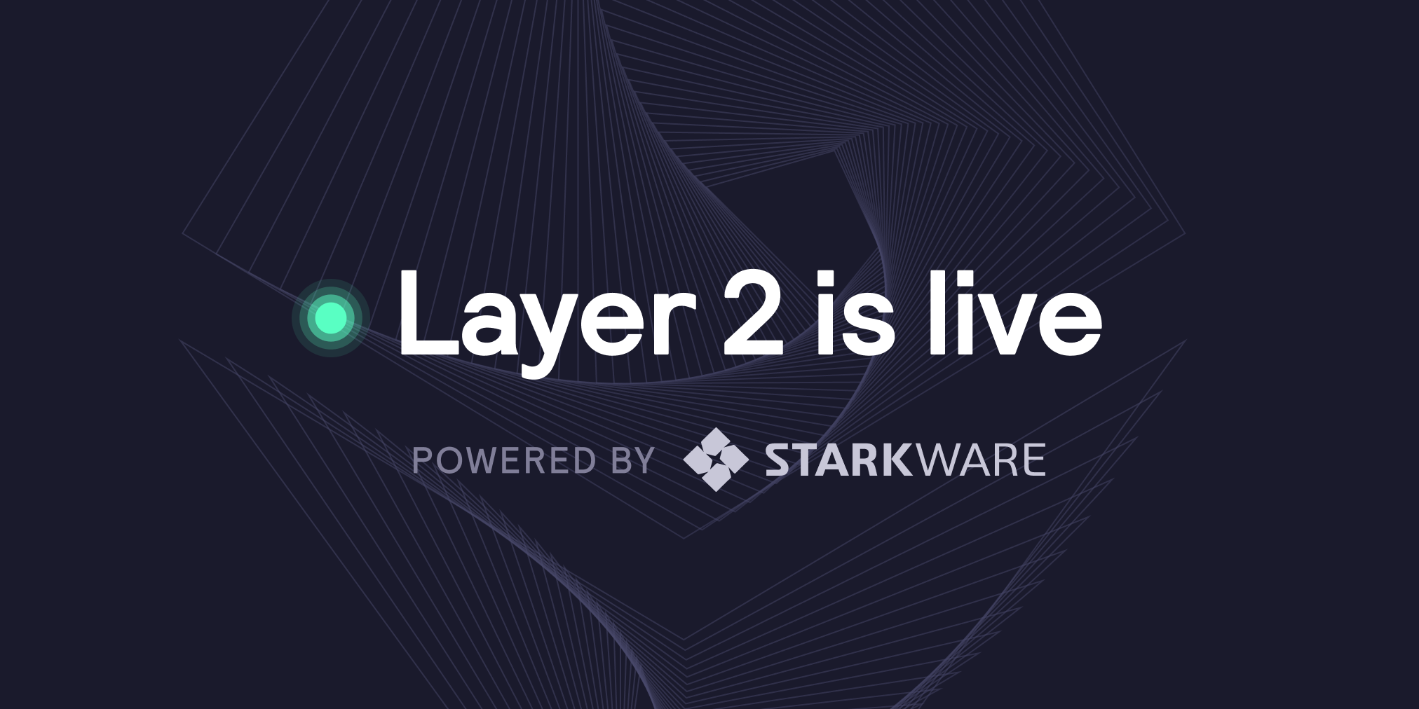 Trade now on Layer 2